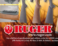 Ruger Rifle Advert for JPB Furley Limited