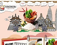 Web Design   Wakaka Restaurant