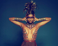 L'Oreal Tribal collection