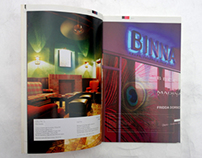Graphic design for BINNA makeup shop