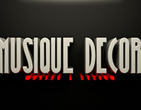 Musique Decor - Motion & Design Logo