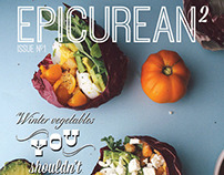 Epicurean Magazine Cover