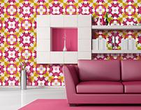 Pink Wallpaper Surface