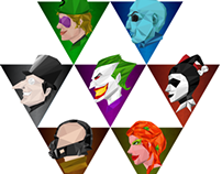 Batman Villains Iconography (2013)