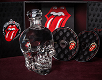 Rolling Stones, 50th Anniversary DVD Box Kit and Vodka