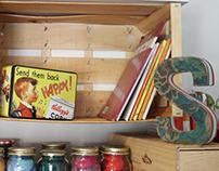 APPLE BOX SHELF