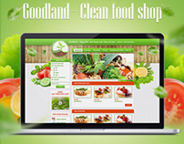 Goodland - Clean food shop