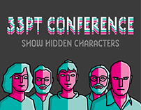 "Animations & Illustrations for the ""33PT Conference"""