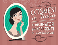 COSMETICS IN ITALY - infographic