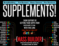 Complete Supplement Info for bodybuilders - Infographic