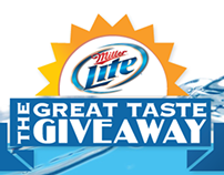 Website - Miller Lite - Great Taste Giveaway
