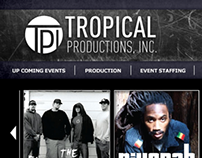 Tropical Production Website