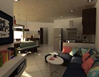 Small Apartment Design Concept