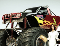 AXA Monster Truck
