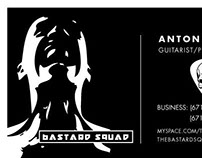 Bastard Squad - Business Cards