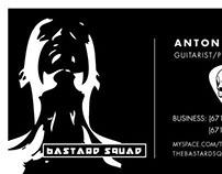 Bastard Squad - Business Cards