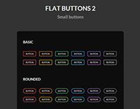 Flat Buttons 2