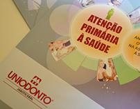 Folder Uniodonto e Unimed da Atenção Primária