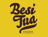 Besi Tua - Punctuation Typeface