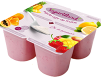 Bandeja de Iogurte
