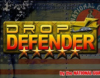 AR Drop Defender. Augmented Reality game.