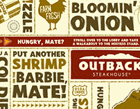 "Outback Steakhouse ""No Rules, Just Right"" Design"