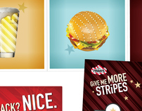 TGI Friday's 'Give Me More Stripes' Campaign