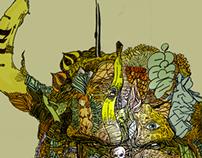 Caprahead+Diabalo - Illustrations