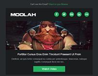 Moolah-Responsive Email template