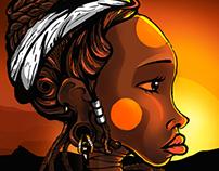 Africana Ilustração