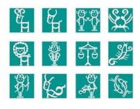 Zodiaco tipográfico