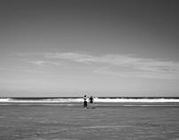 Surfing morning