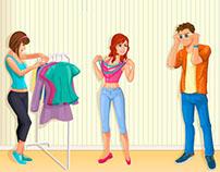Personajes promoción