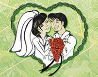 Tag para Lembrancinha de Casamento