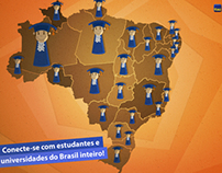 Fan page Itaú universitários