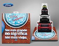 Ford / Postal y carta de cumpleaños / CRM