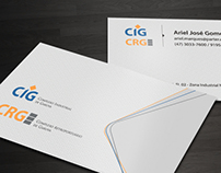 CIG // CRG Business Card