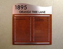 Orange Tree Lane