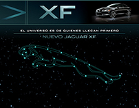 Jaguar / XF / Landing page / PITCH