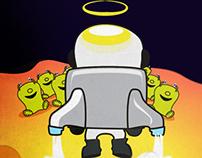 ilustração ET