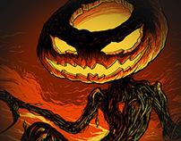 The Pumpkin King Illustration for Seventh.Ink
