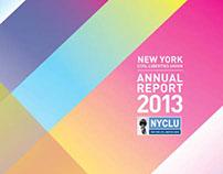 NYCLU Annual Report 2013