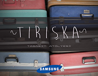 Samsung advertisement project by Tırışka Tasarım