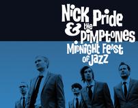 Nick Pride & The Pimptones ~ CD package