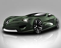 Ilustración coche