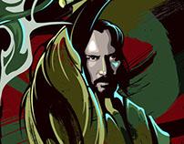 """47 Ronin"" Blurppy.com Poster Posse project"