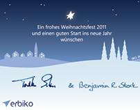 advertising // xmas card 2011