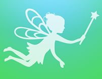 Never Neverland Fairy iOS Icon