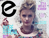 SUMMER RAYS :: Cover and Editorial
