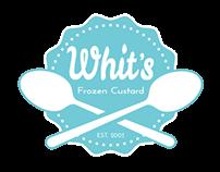 Whit's Frozen Custard Re-Branding Project